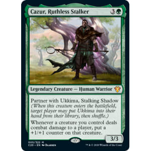 Cazur, Ruthless Stalker