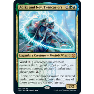 Adrix and Nev, Twincasters (Display Card)
