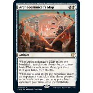 Archaeomancer's Map
