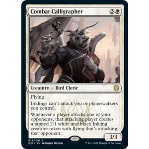 Combat Calligrapher