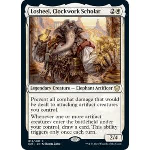 Losheel, Clockwork Scholar