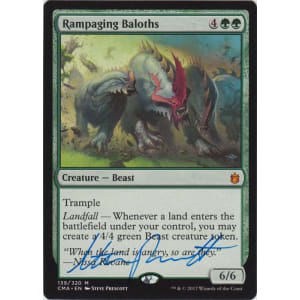 Rampaging Baloths Signed by Steve Prescott