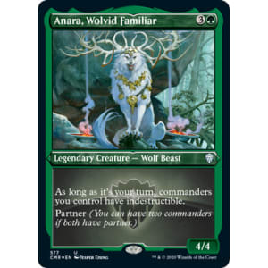 Anara, Wolvid Familiar