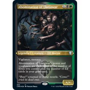 Abomination of Llanowar