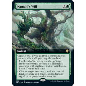 Kamahl's Will