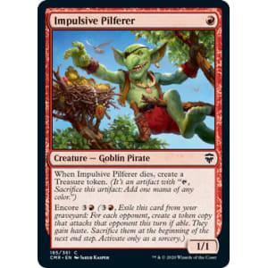 Impulsive Pilferer