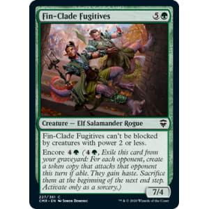 Fin-Clade Fugitives