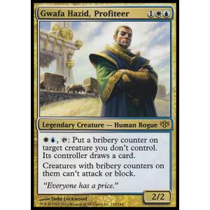 Gwafa Hazid, Profiteer