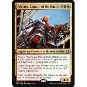 Adriana, Captain of the Guard