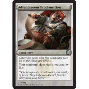 Advantageous Proclamation