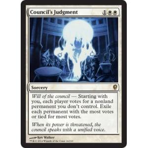 Council's Judgment