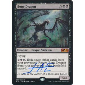 Bone Dragon Signed by Jason Engle