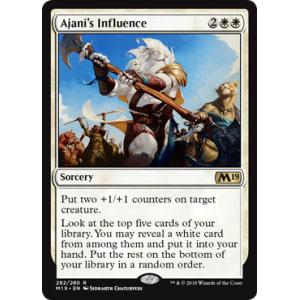 Ajani's Influence