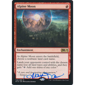 Alpine Moon Signed by Alayna Danner