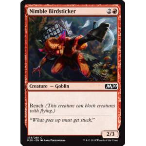 Nimble Birdsticker