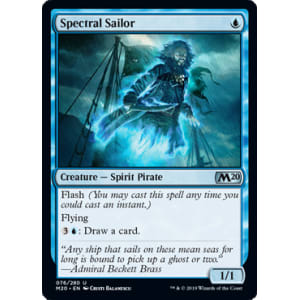 Spectral Sailor