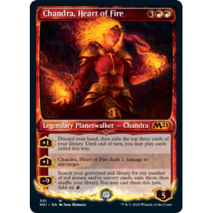 Chandra, Heart of Fire