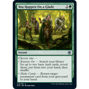 You Happen On A Glade