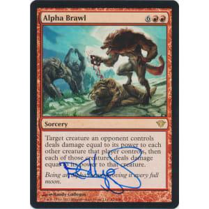 Alpha Brawl Signed by Randy Gallegos