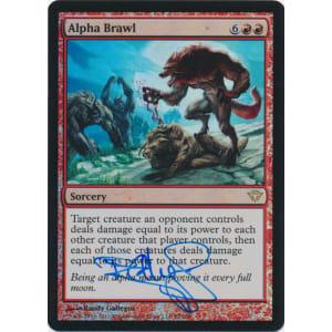 Alpha Brawl FOIL Signed by Randy Gallegos