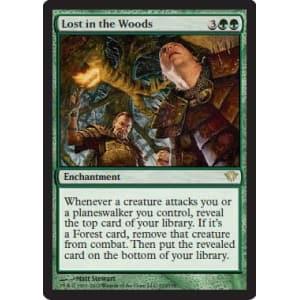 Lost in the Woods Foil Near Mint MTG Magic Dark Ascension Rare