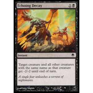 Echoing Decay