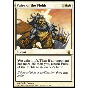 Pulse of the Fields