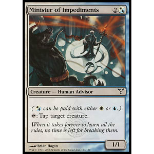 Minister of Impediments