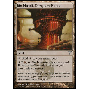 Rix Maadi, Dungeon Palace