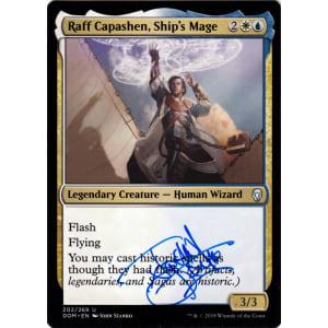 Raff Capashen, Ship's Mage Signed by John Stanko