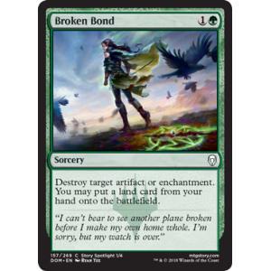 Broken Bond