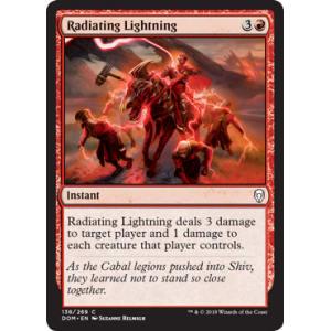 Radiating Lightning