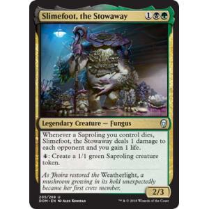 Slimefoot, the Stowaway