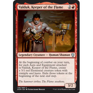 Valduk, Keeper of the Flame