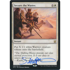 Secure the Wastes Signed by Scott Murphy