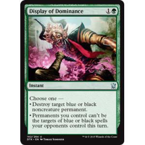 Display of Dominance