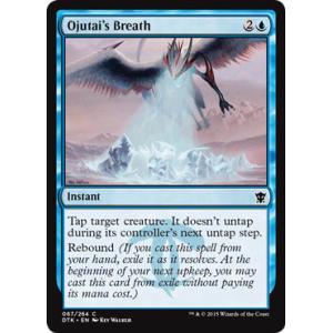 Ojutai's Breath
