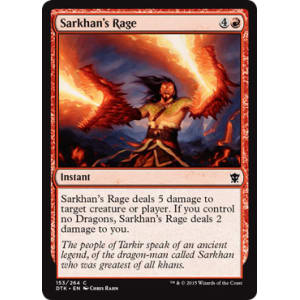 Sarkhan's Rage