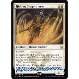 Hidden Dragonslayer Signed by Anastasia Ovchinnikova