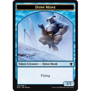 Djinn Monk (Token)