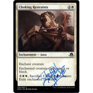 Choking Restraints Signed by John Stanko