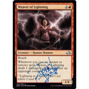 Weaver of Lightning Signed by John Stanko