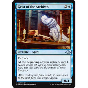 Geist of the Archives