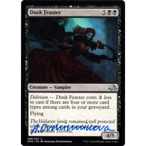 Dusk Feaster Signed by Anastasia Ovchinnikova