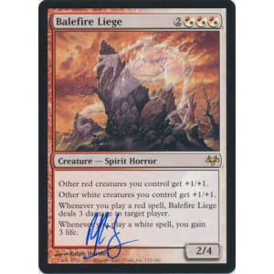 Balefire Liege Signed by Ralph Horsley