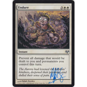 Endure Signed by Ralph Horsley