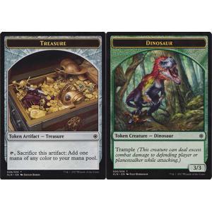 Dinosaur (Token) // Treasure (Token)