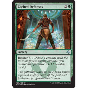 Cached Defenses