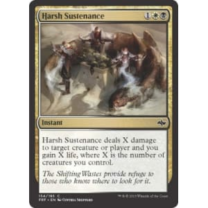 Harsh Sustenance