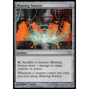 Blasting Station